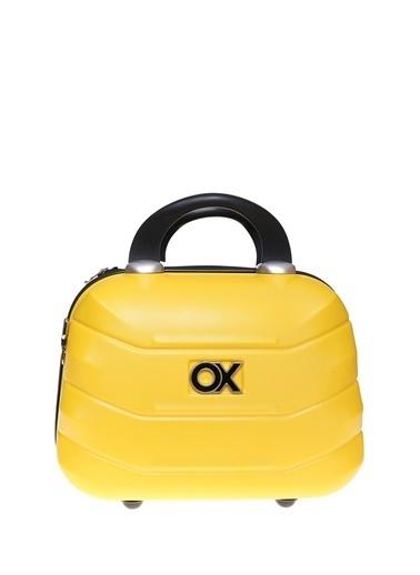 Ox Ox Standart Boy El Çantası Sarı